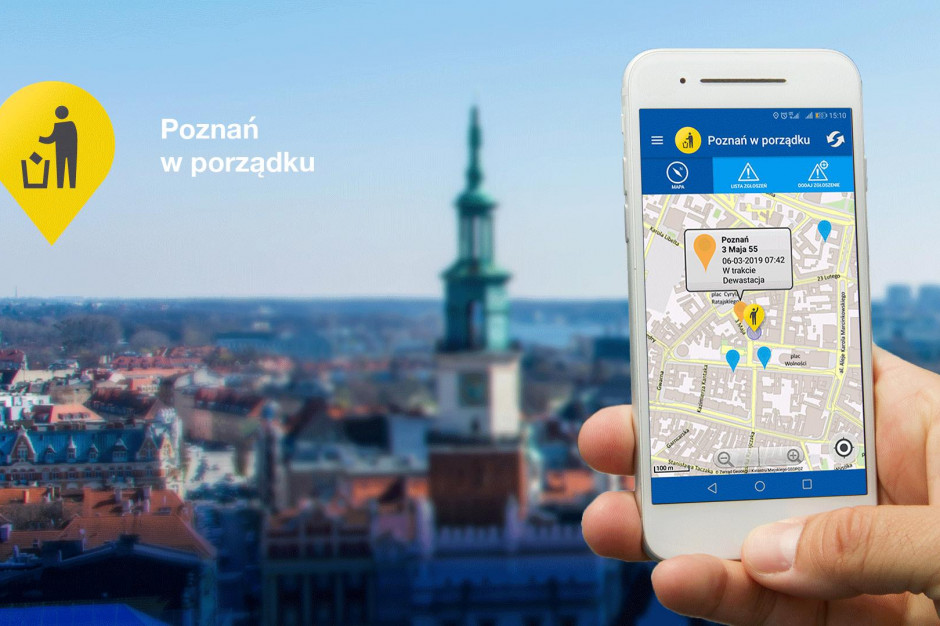 Aplikacja, która ma pomóc zadbać o czystość w mieście