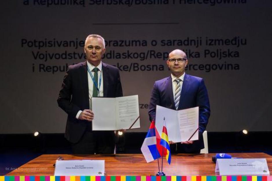 Województwo podlaskie będzie współpracować z Republiką Serbską Bośni i Hercegowiny