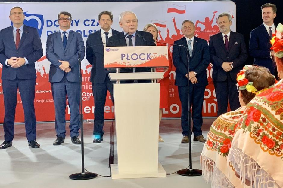 """Jarosław Kaczyński o awarii w """"Czajce"""": Mamy do czynienia z całkowitą nieodpowiedzialnością"""