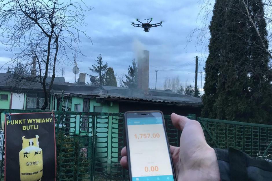 Dron pomoże walczyć ze smogiem w Poznaniu