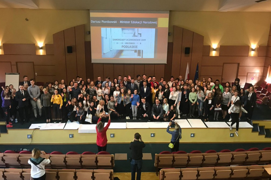 Dariusz Piontkowski: Trzeba docenić działające w szkołach samorządy uczniowskie
