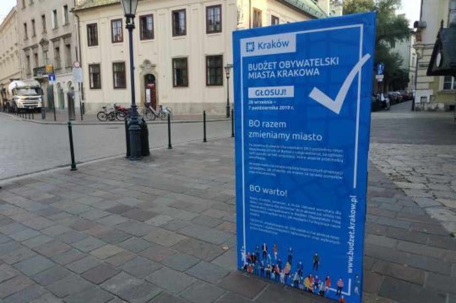 Kraków: Ruszyło głosowanie w budżecie obywatelskim