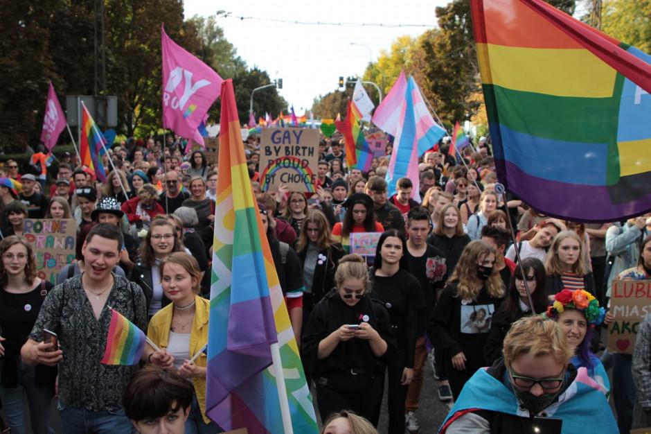 Ulicami Lublina przeszedł II Marsz Równości