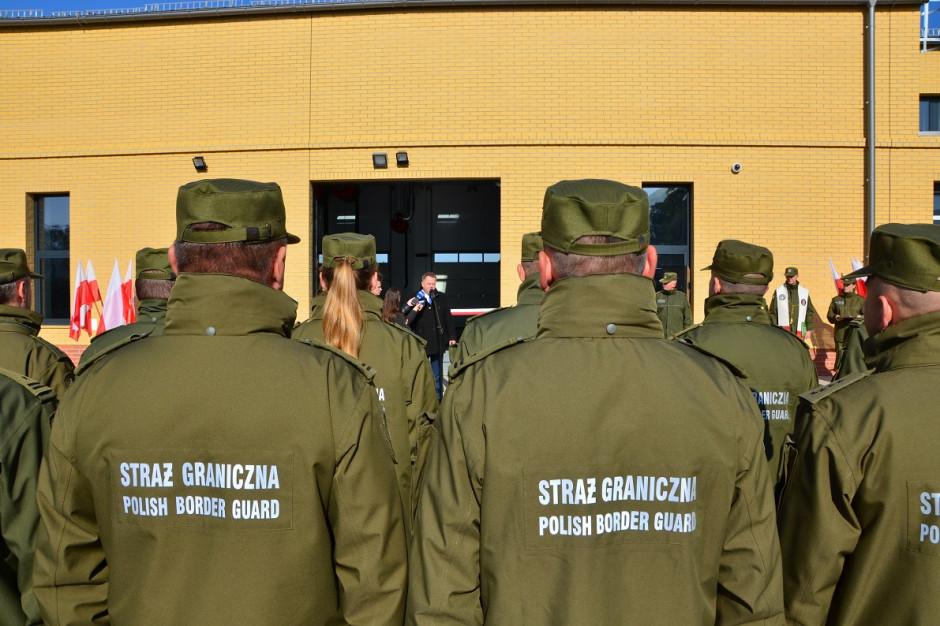Podlaskie: Straż graniczna z nową stacją obsługi pojazdów