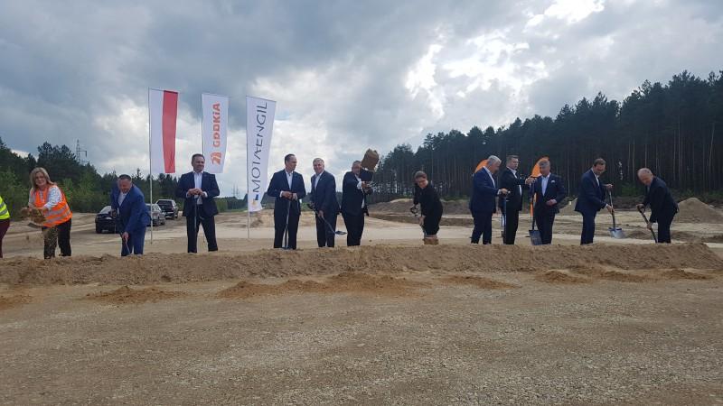 Rozpoczęcie budowy obwodnicy Tomaszowa Lubelskiego (fot. GDDKiA)