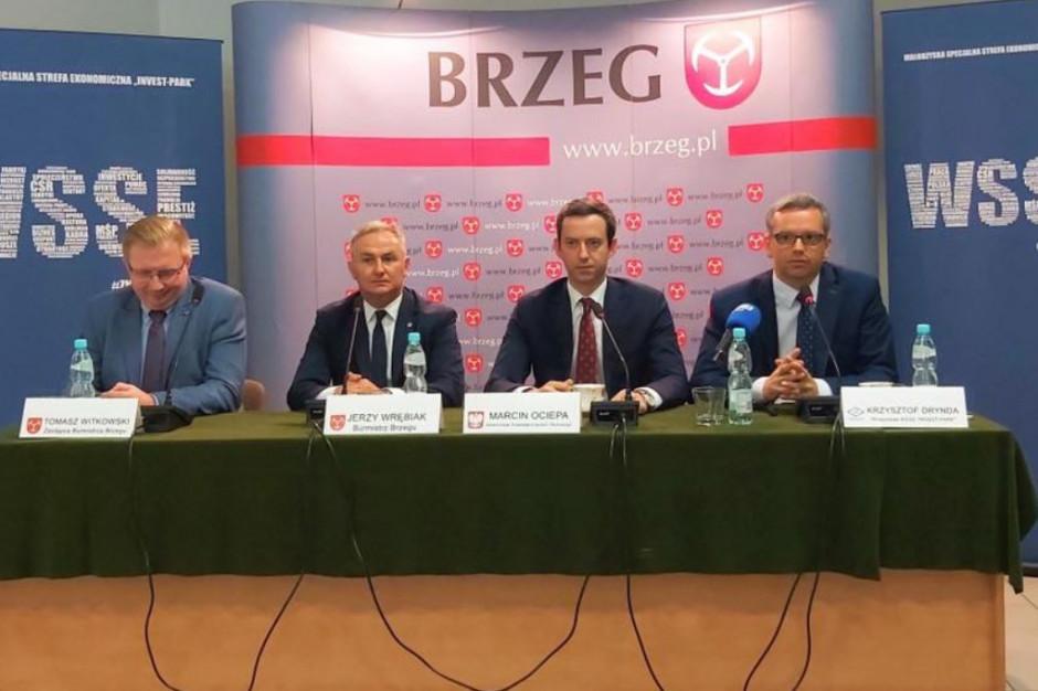 Wałbrzyska Specjalna Strefa Ekonomiczna zainwestuje 75 mln złotych w Brzegu i Nysie