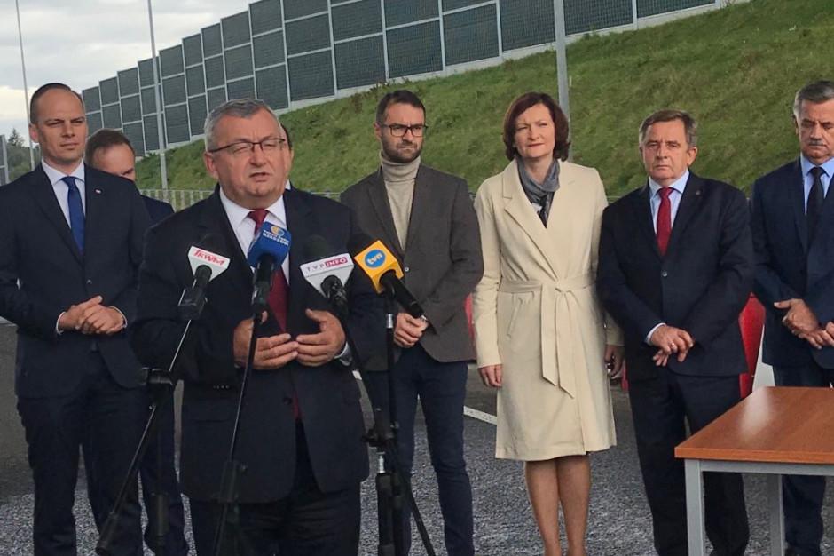 Rozbudowa dk 94 pochłonie prawie 116 mln zł. Pierwsze łopaty wbite