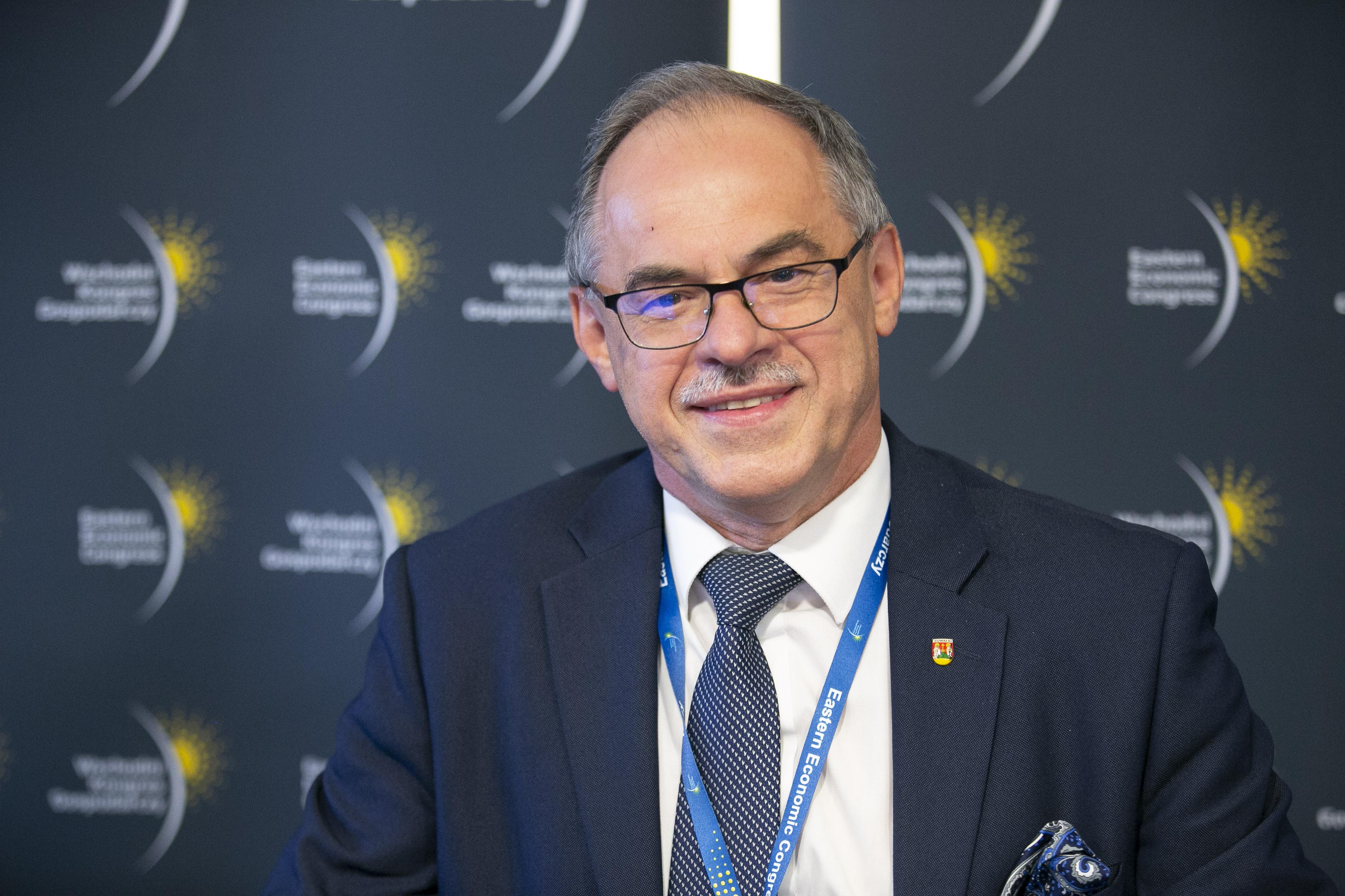 Czesław Renkiewicz, prezydent Suwałk (fot. PTWP)