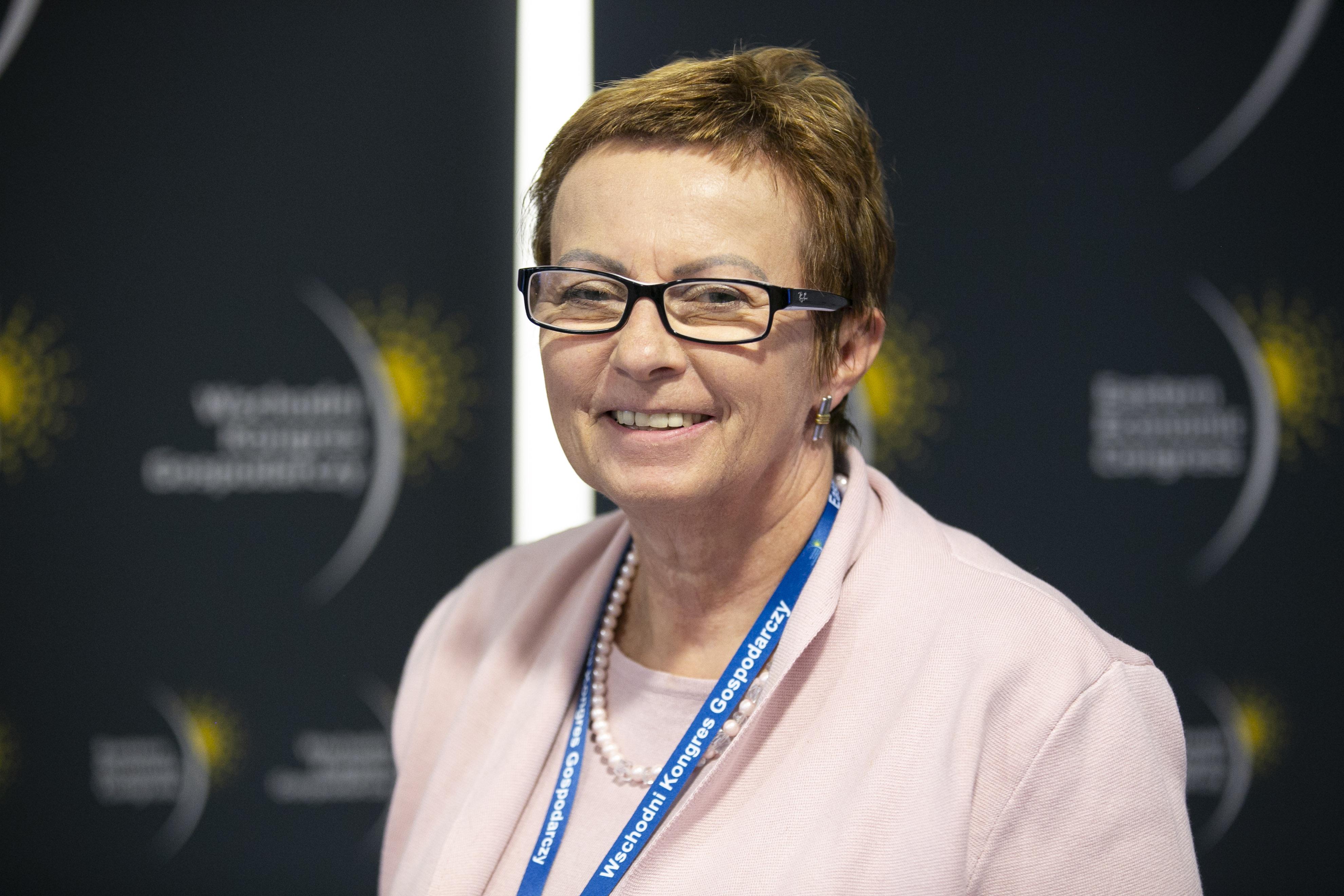 Alina Sarnacka, wiceprezes, wiceprezes fundacji Centrum PPP (fot. PTWP)