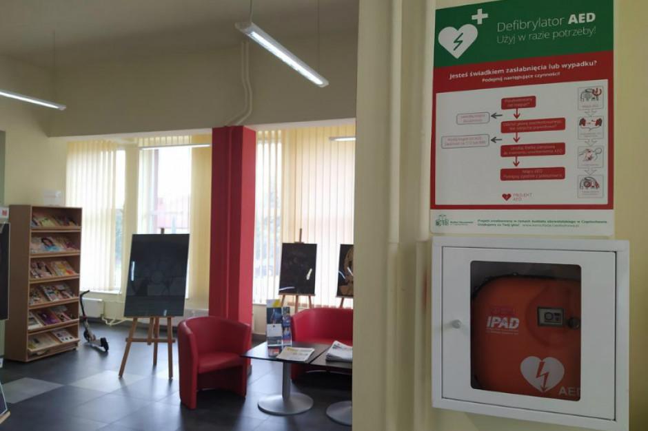 Defibrylatory w Częstochowie dzięki głosom mieszkańców