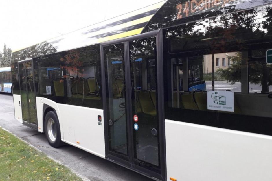 Elektryczny Solaris na testach w Legnicy. MPK planuje zainwestować w takie autobusy
