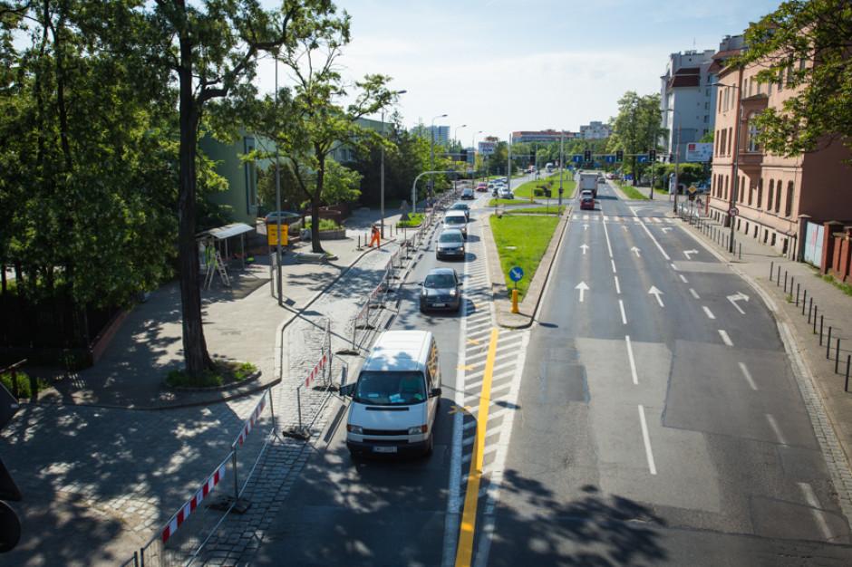 Wrocław: skrzyżowanie nieprzejezdne z powodu przebudowy sieci ogólnospławnej