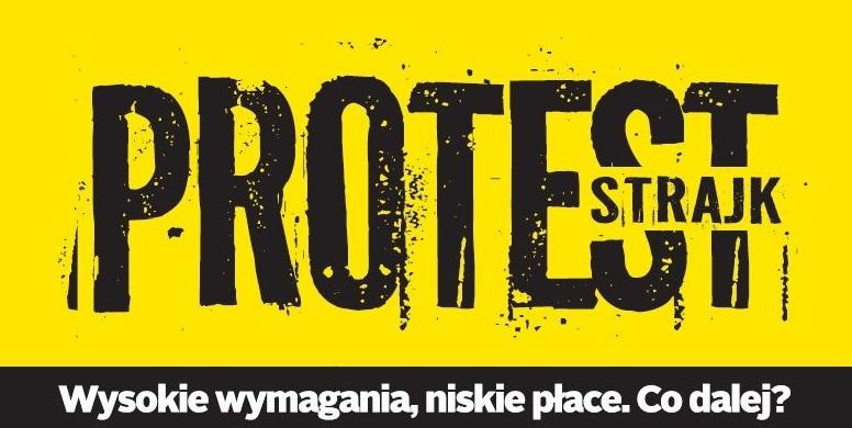 15 października nauczyciele zaczynają bezterminową akcję protestacyjną (fot. znp.edu.pl)