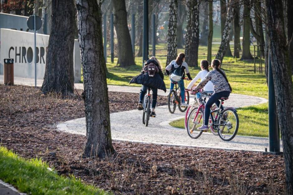 Gliwice: Ścieżka rowerowa trasą dawnej kolejki wąskotorowej