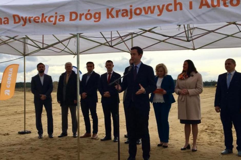 Rozpoczęła się budowa obwodnicy Niemodlina za 264 mln zł. Potrwa do 2021 r.