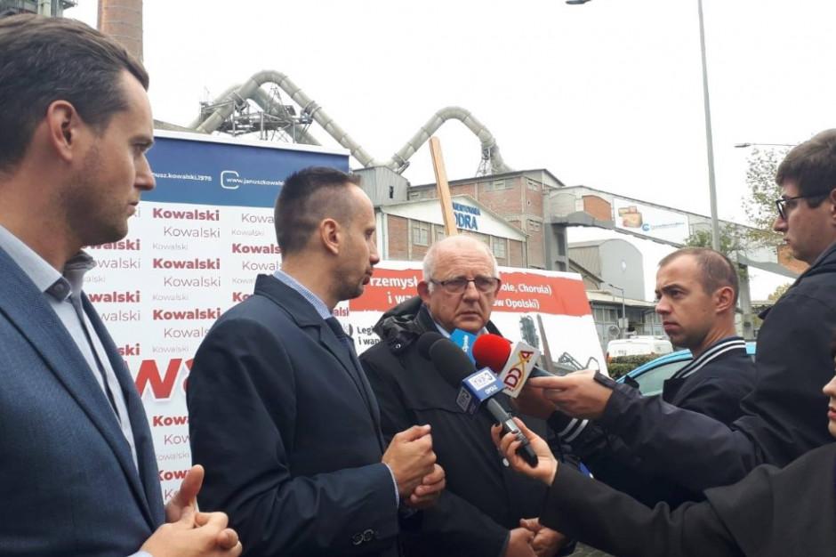 Kandydat PiS z Opola zapowiada wsparcie dla branży cementowej