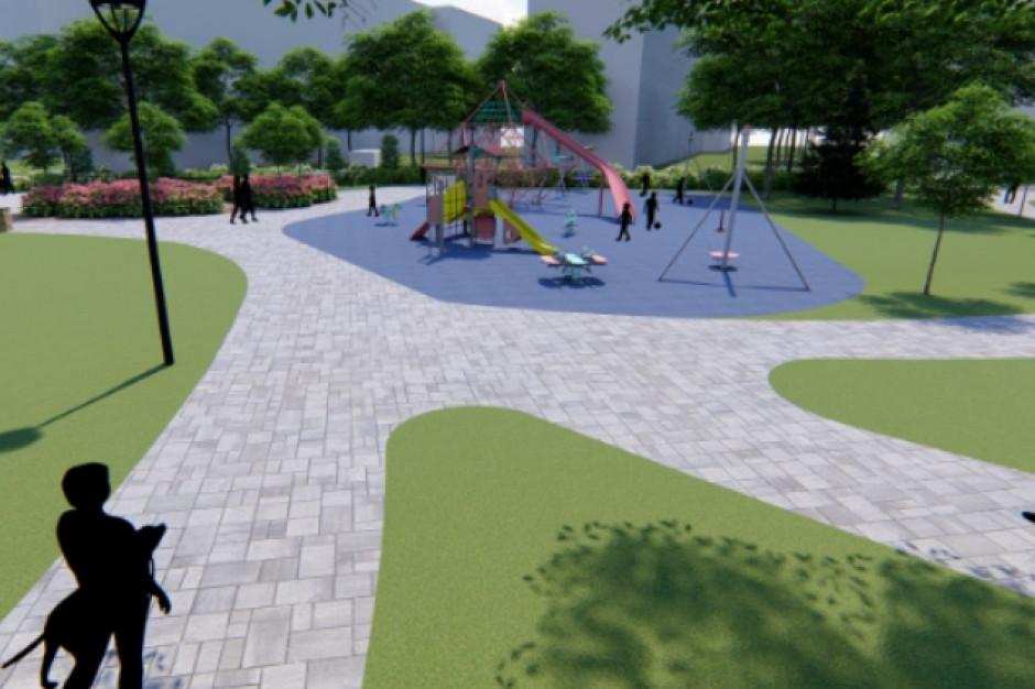 Radom: zmienią plac w teren rekreacyjny