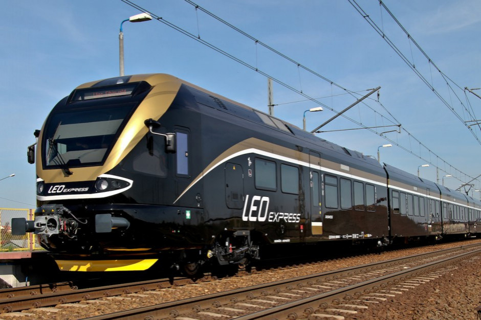 Pociągi Leo Express częściej na trasie Praga-Kraków