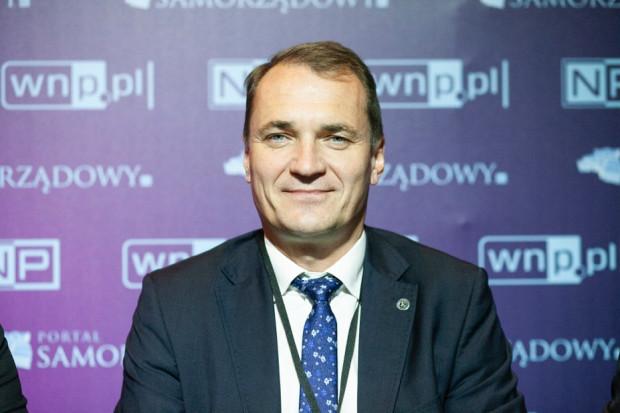 Artur Szymczyk, zastępca prezydenta, dyr. ds. inwestycji i rozwoju w Lublinie (fot. PTWP)