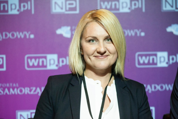 Karolina Mucha-Kuś z Górnośląsko-Zagłębiowskiej Metropolii (fot. PTWP)