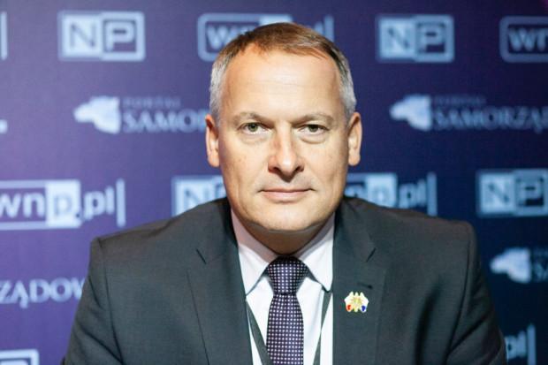Witold Śmiałek z Krakowskiego Holdingu Komunalnego (fot. PTWP)