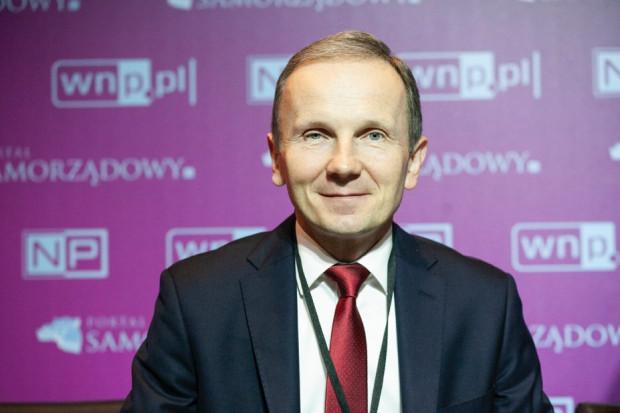 Mariusz Kondraciuk z firmy Siemens Smart Infrastructure (fot. PTWP)
