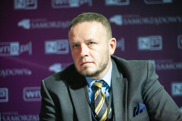Rafal Kerger, redaktor naczelny Portalsamorzadowy.pl (fot. PTWP)
