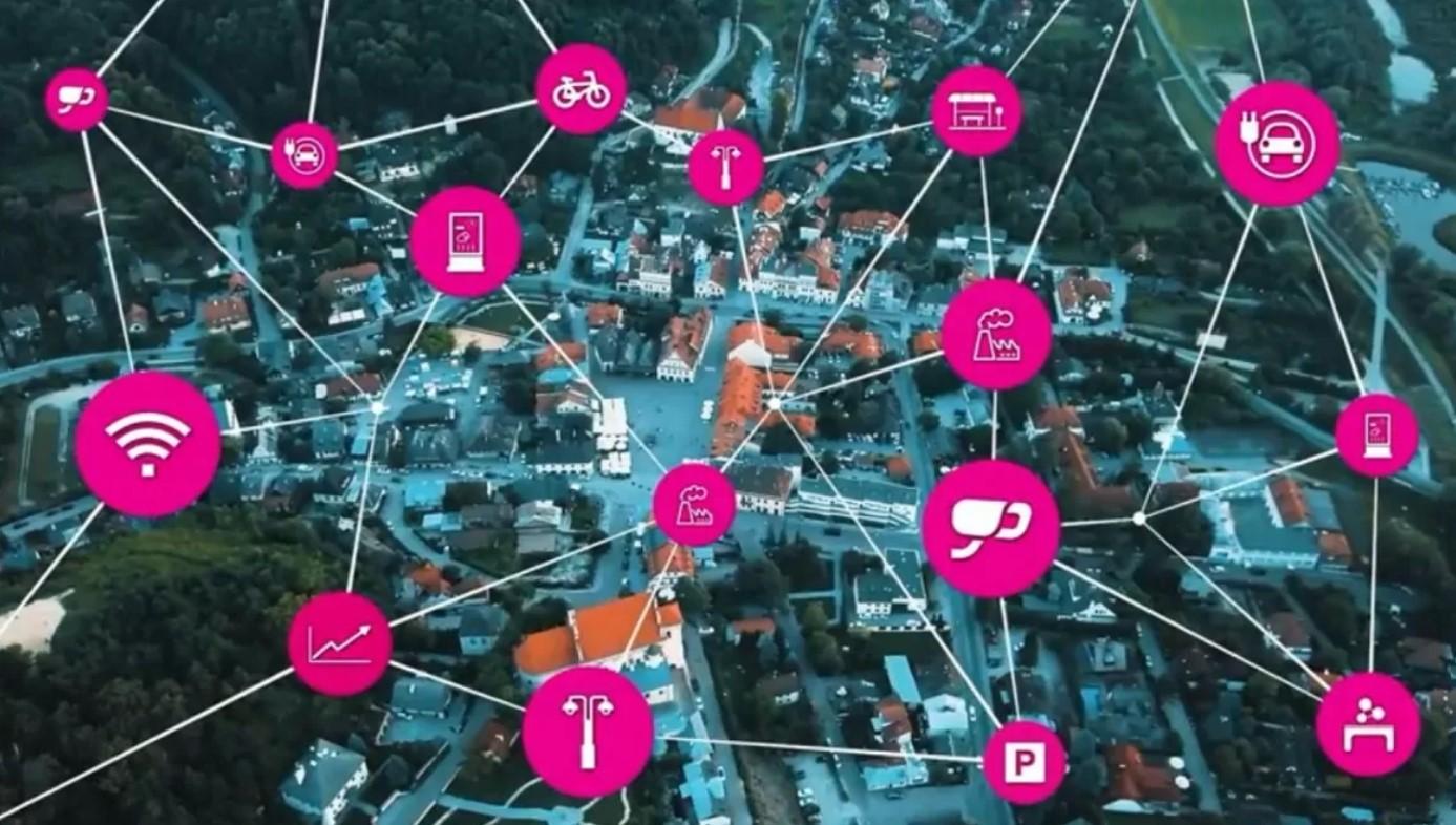 Kadr z filmu prezentującego system (Źródło: T-Mobile