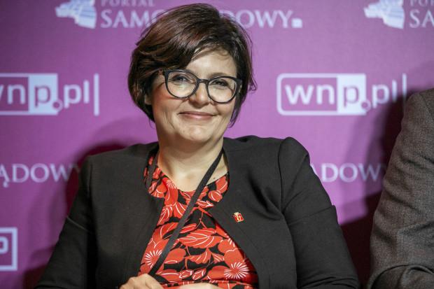 Justyna Glusman - dyrektorka koordynatorka ds. zrównoważonego rozwoju i zieleni, Urząd Miasta Stołecznego Warszawy (fot. PTWP)