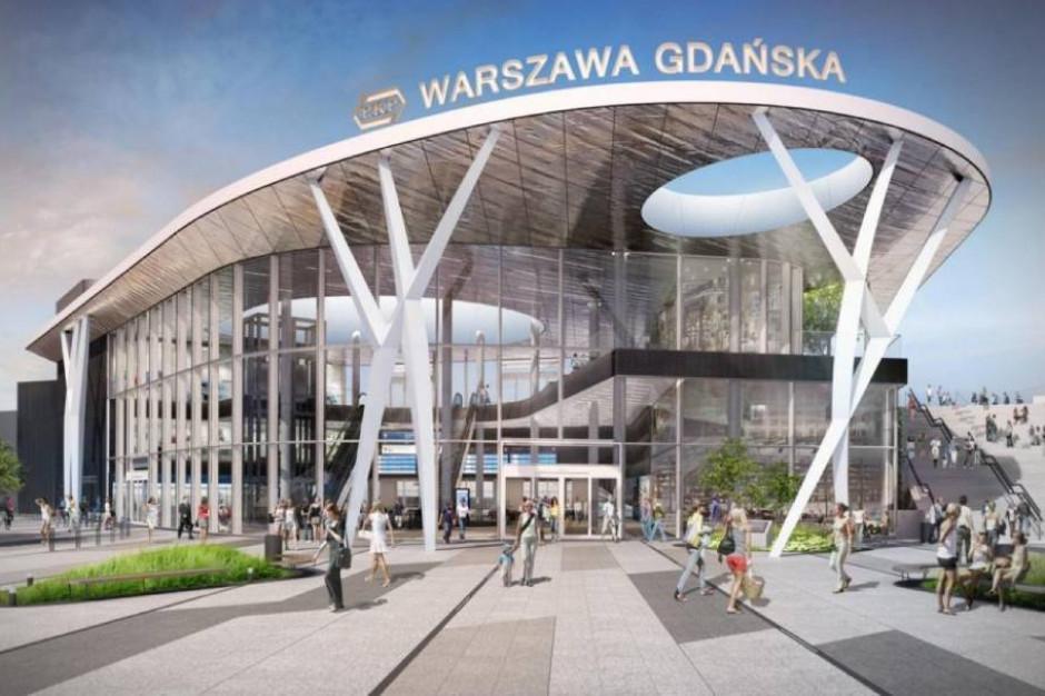 Jest umowa na modernizacji stacji Warszawa Gdańska