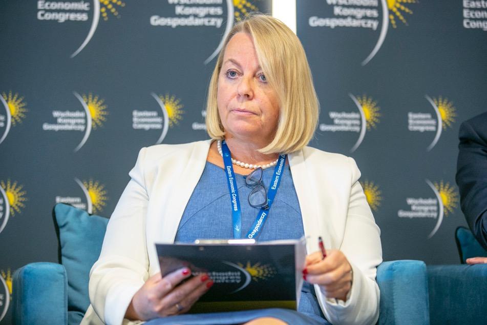 Małgorzata Oleszczuk, prezes Polskiej Agencji Rozwoju Przedsiębiorczości (fot. PTWP)