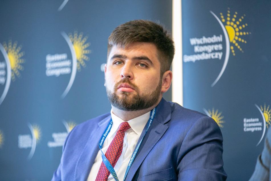 Jakub Banaszek, prezydent Chełma (fot. PTWP)