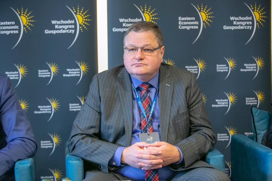 Przemysław Cieszyński, członek zarządu Banku Gospodarstwa Krajowego (fot. PTWP)