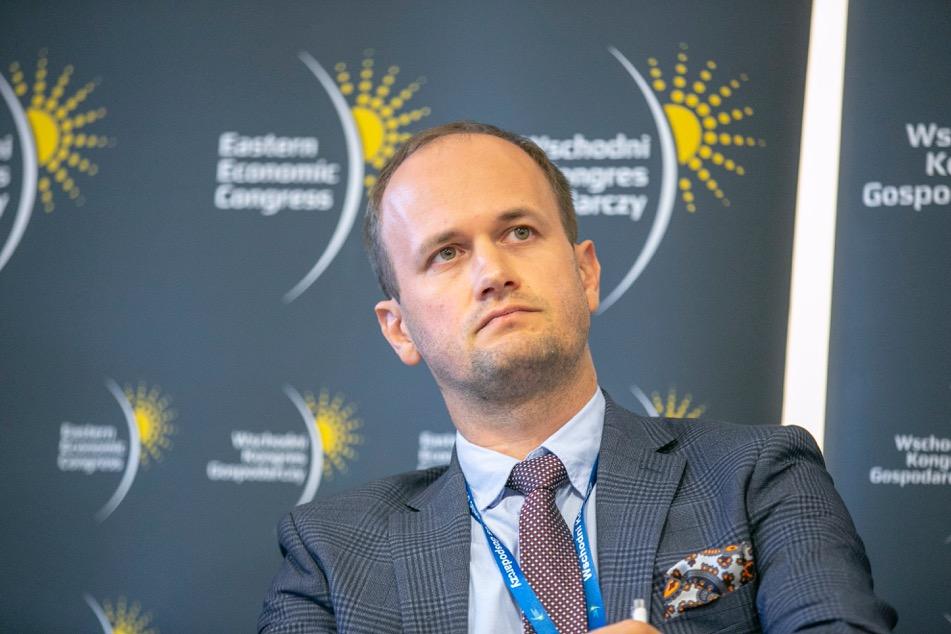 Łukasz Czernicki, kierownik zespołu strategii Polskiego Instytutu Ekonomicznego (fot. PTWP)