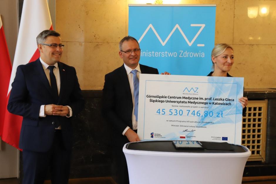 Rządowe wsparcie inwestycji w śląskiej służbie zdrowia