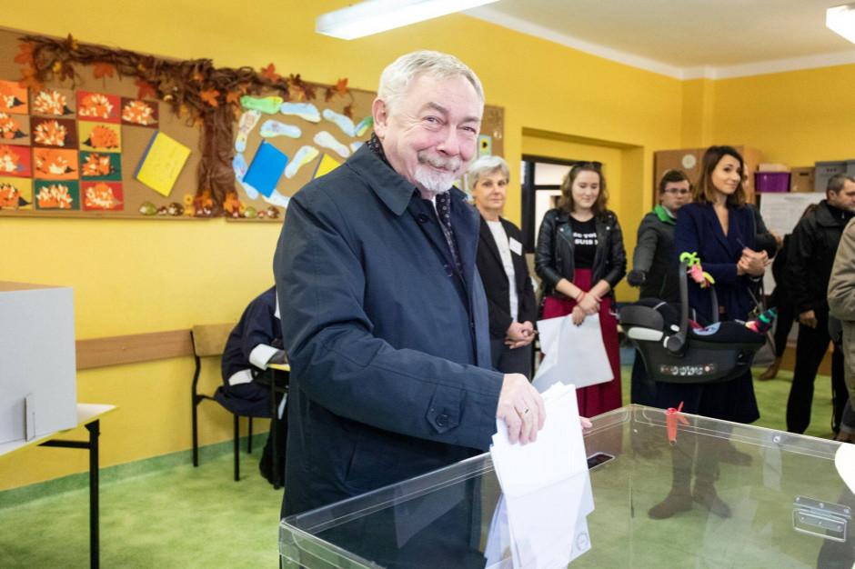 Prezydent Krakowa wskazuje mieszkańcom na kogo mają głosować