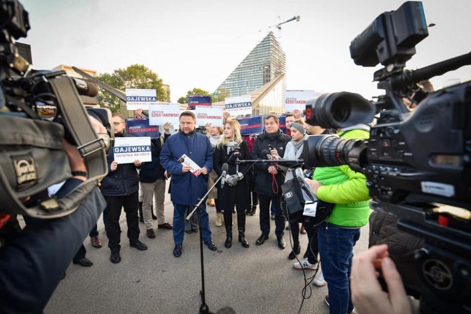 """Kierwiński krytycznie o działaniach PiS. """"Prowadzą politykę antywarszawską"""""""