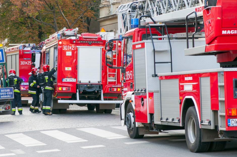 Kałuszyn. Szkoła i przedszkole ewakuowane po rozszczelnieniu się gazociągu