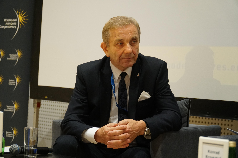 Burmistrz Terespola Krzysztof Iwaniuk. Fot. PTWP