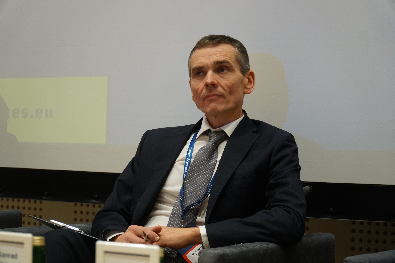 Konrad Krzysztof Nowak, prezes Miejskiego Przedsiębiorstwa Energetyki Cieplnej w Olsztynie. Fot. PTWP