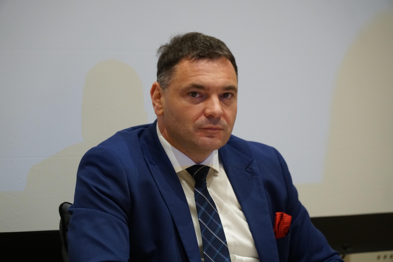 Piotr Siniakowicz, burmistrz Siemiatycz. Fot. PTWP