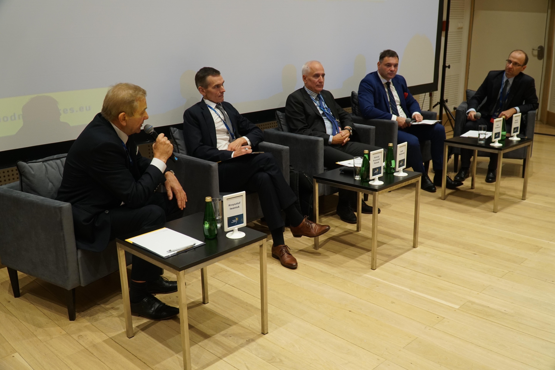 Energia w samorządzie. Panel w trakcie Wschodniego Kongresu Gospodarczego w Białymstoku.