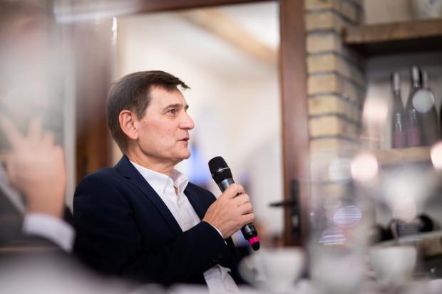 Henryk Warkocz, prezes zarządu TUV Nord Polska (fot.PTWP)