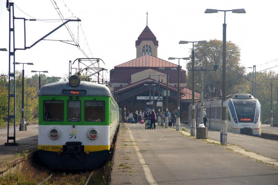 Otwock podpisał umowę z PKP. Modernizacja obejmie linię kolejową, dworzec i okolice