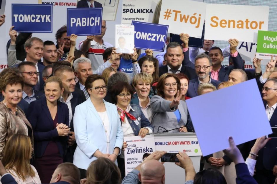 Prezydenci Łodzi, Warszawy, Poznania, Sopotu i Białegostoku: wierzymy w zwycięstwo KO