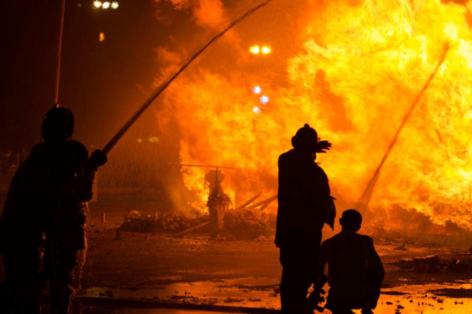 Żary chciały przejąć zabytkowy kompleks, ten w nocy spłonął