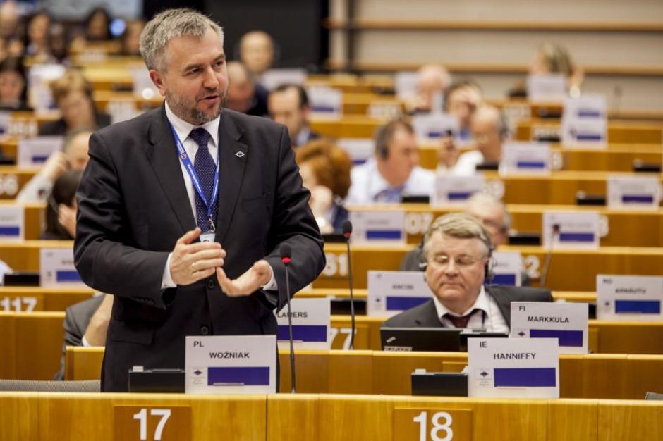Marszałek Wielkopolskiego, Marek Woźniak, jest przewodniczącym polskiej delegacji w Komitecie Regionów (fot.umww)