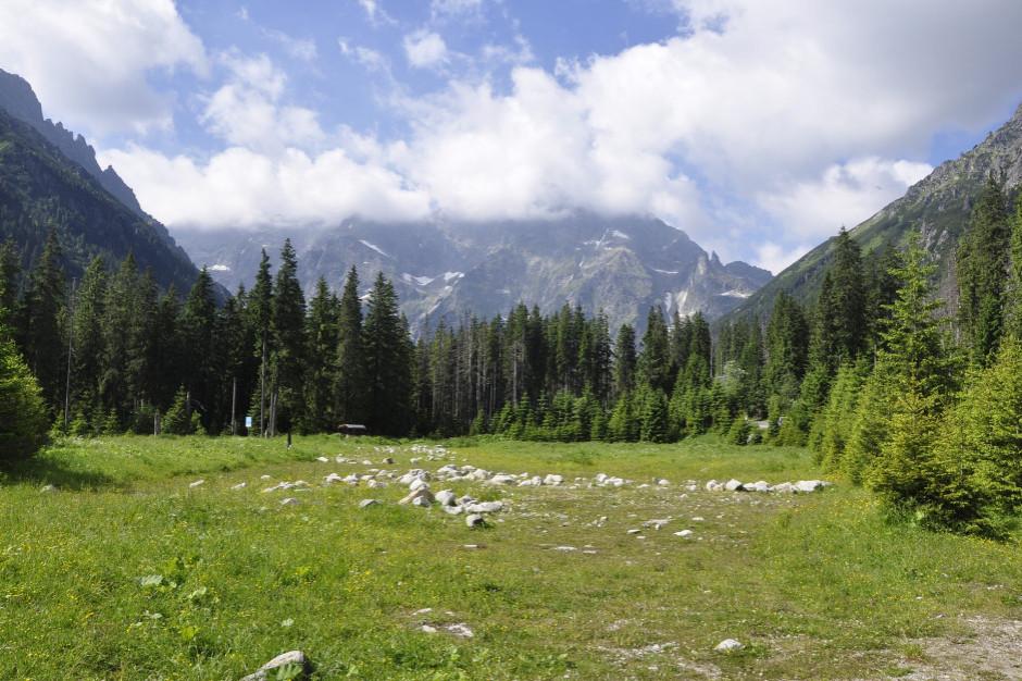 W Tatrach silny halny