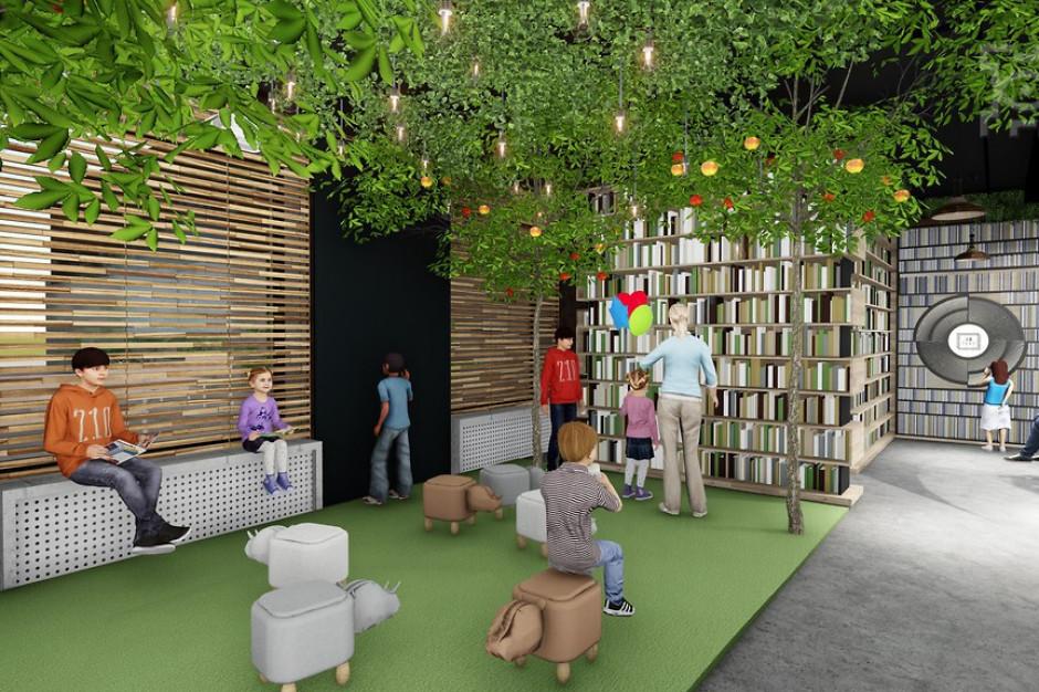 W Lublinie powstanie oryginalna biblioteka z wykorzystaniem zieleni