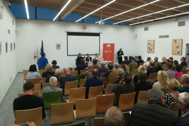 Mieszkańcy Lublińca podczas spotkania z RPO(fot. mat. prasowe)